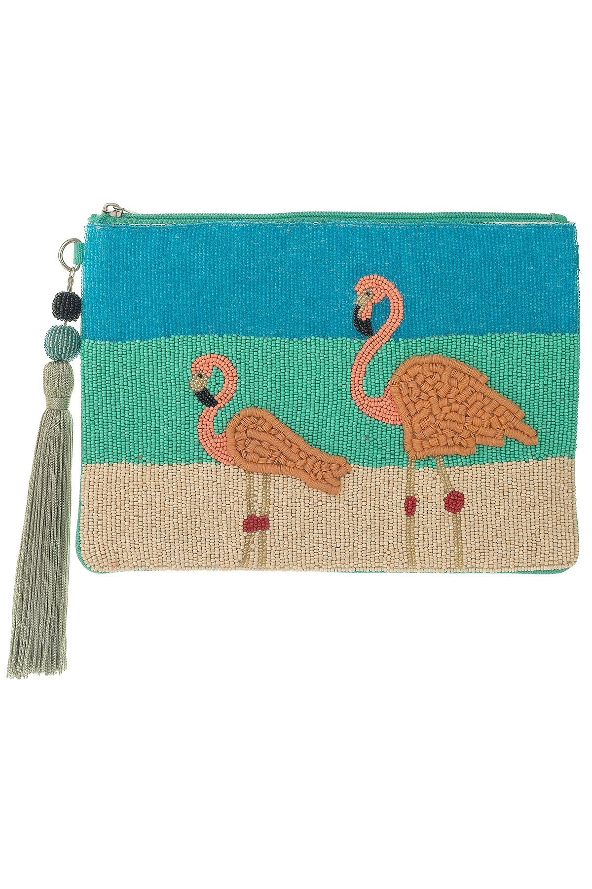 FLAMINGOS Large Pouch