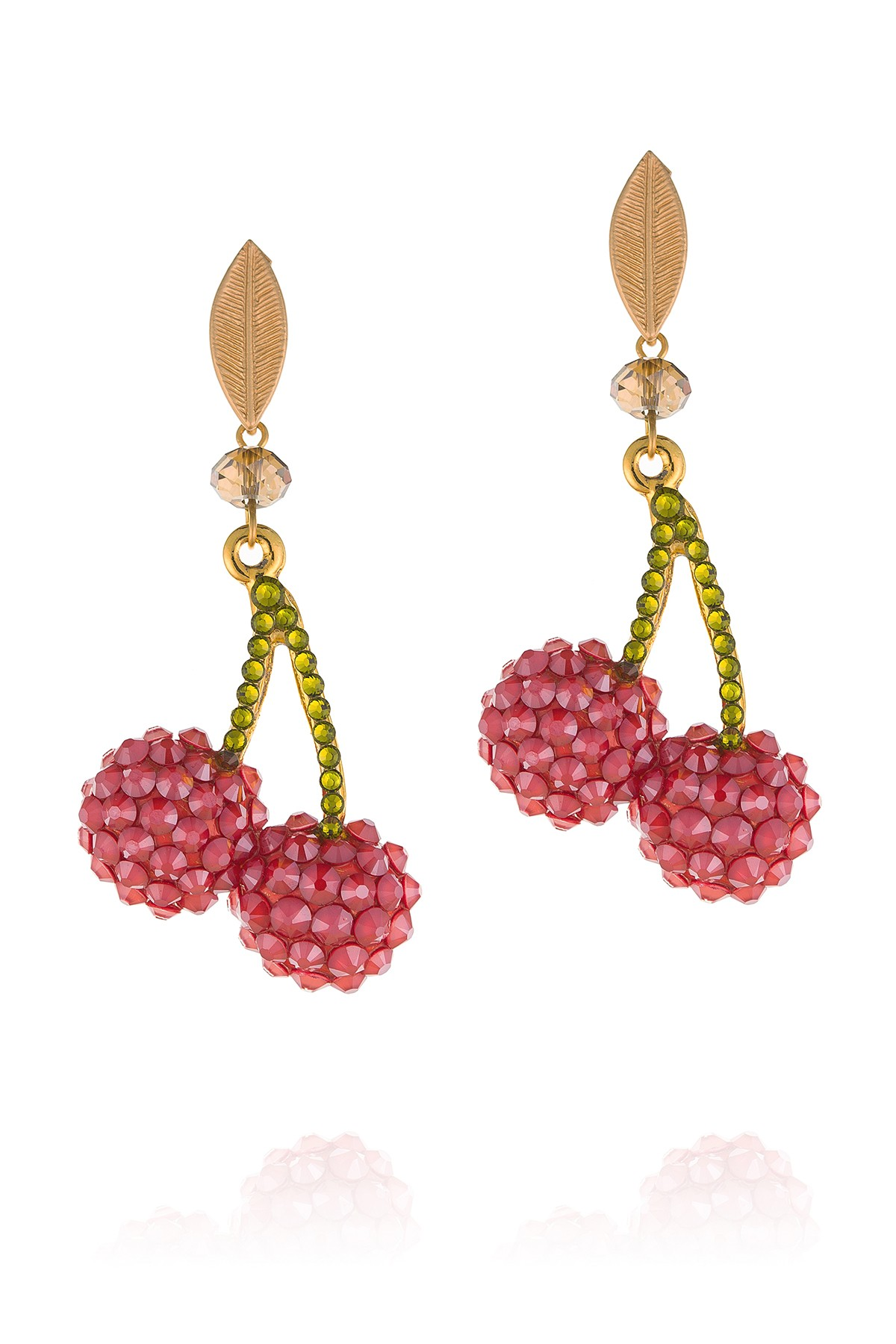 Double Cherries Earrings
