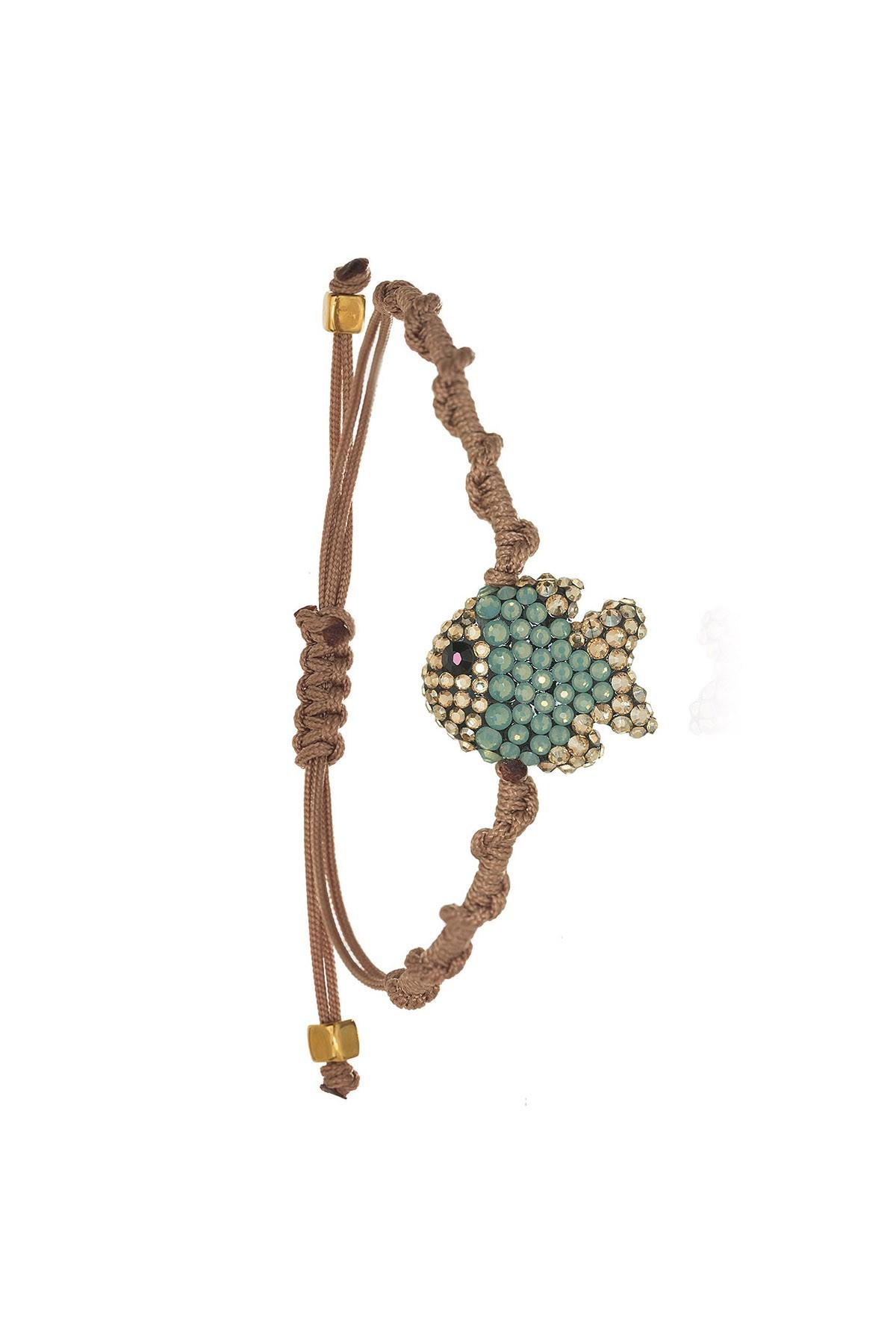 Little Fish Macrame Bracelet