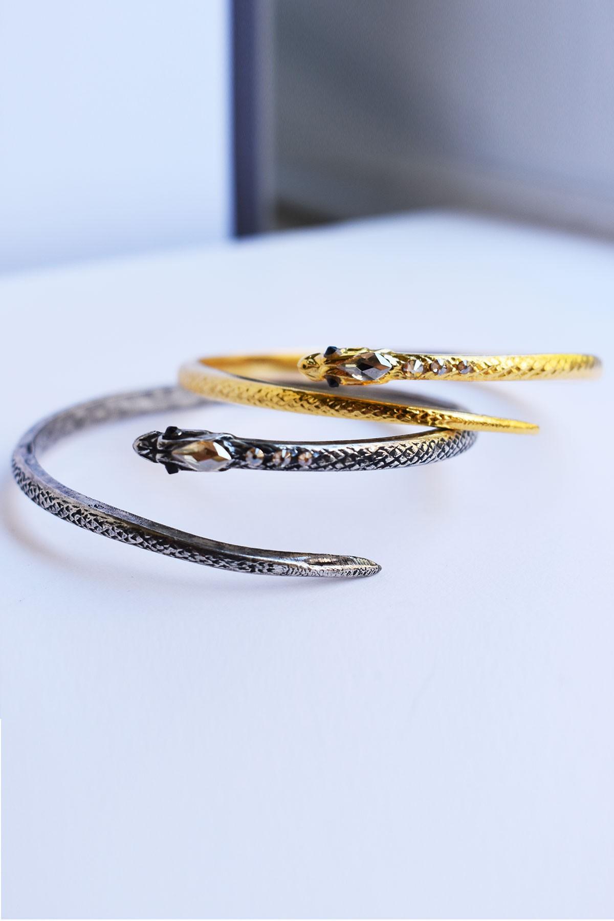 Silver Cobra Bracelet