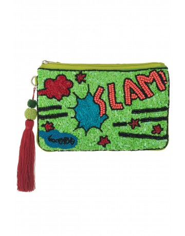 SLAM!_Green MEDIUM CLUTCH