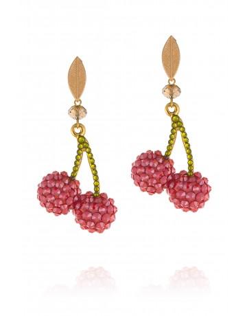 Double Cherries Earrings