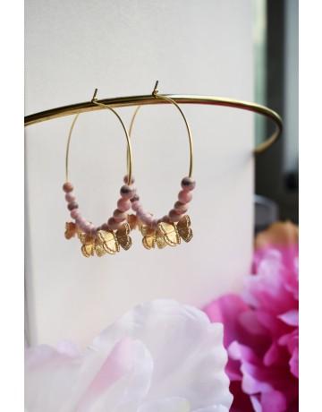 Chrysalis Hoop Earrings
