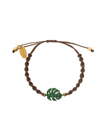 Monstera Leaf Bracelet