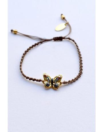 Small butterfly bracelet