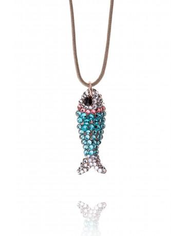 Maridaki Fish Necklace