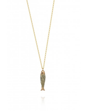 Big Maridaki Fish Necklace