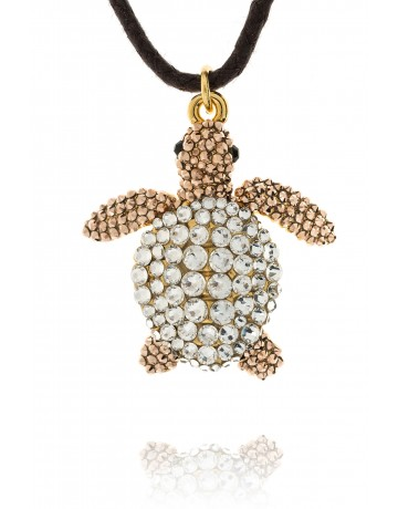 Caretta Turtle Necklace