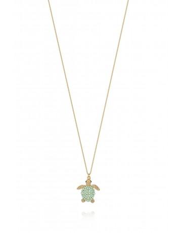 Big Caretta Turtle Necklace