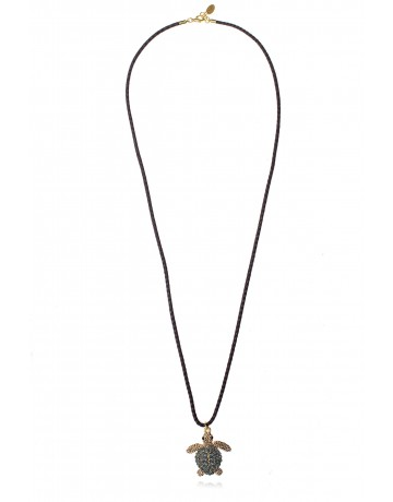 Caretta Turtle Necklace