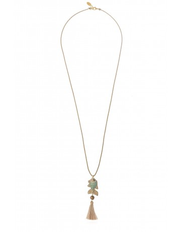 Fish Tassel Necklace