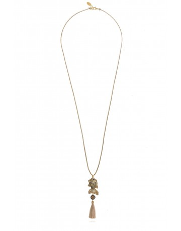Fish Tassel Necklace