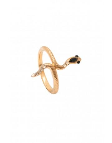 Gold Cobra Ring