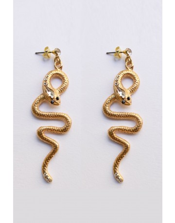 Drop Snake Earrings