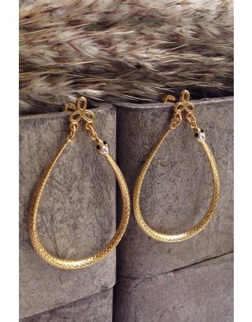 Coiled Snake Earrings