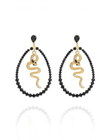 RIBBON SNAKE Earrings