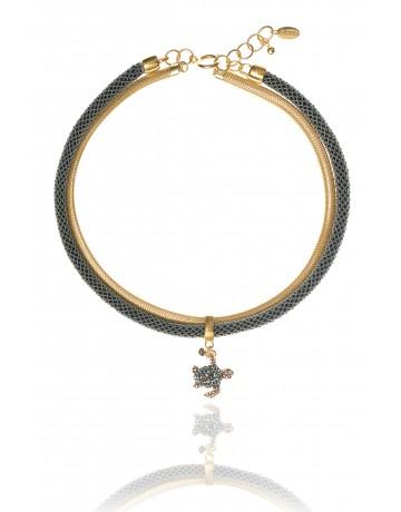 MELINA Caretta Turtle Necklace