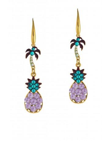 Tropical Earrings Lilac